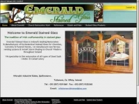 Emerald Stained Glass