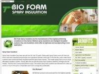 Bio Foam Spray Insulation