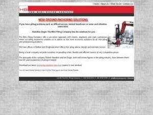 Hamilton Bogie Mini Piling Co. Ltd
