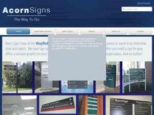 Acorn Signs