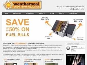 Weatherseal Spray Foam