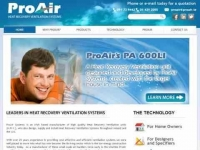 ProAir Heat Recovery and Ventilation Systems