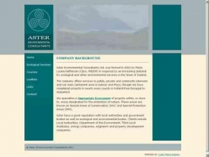 Aster Environmental Consultants Ltd