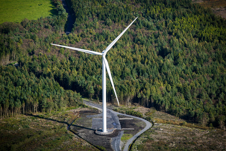 Securing the largest wind turbines in Ireland