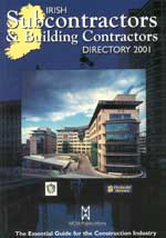 Irish Subcontractors & Building Contractors Directory 2001